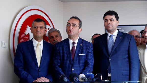 CHP - Demokrat Parti - Sputnik Türkiye