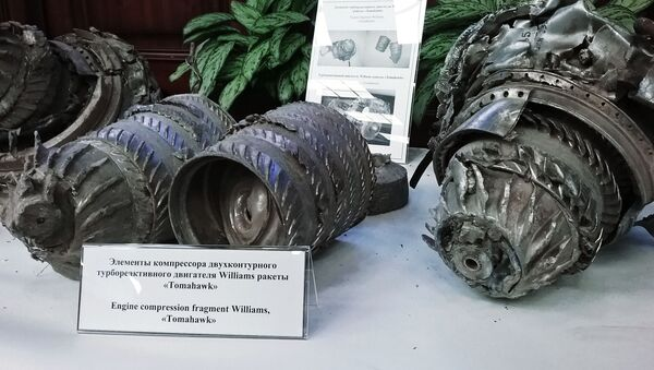 Tomahawk motorunun parçaları - Sputnik Türkiye