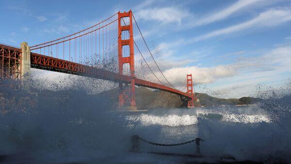 San Francisco, Golden Gate Köprüsü - Sputnik Türkiye