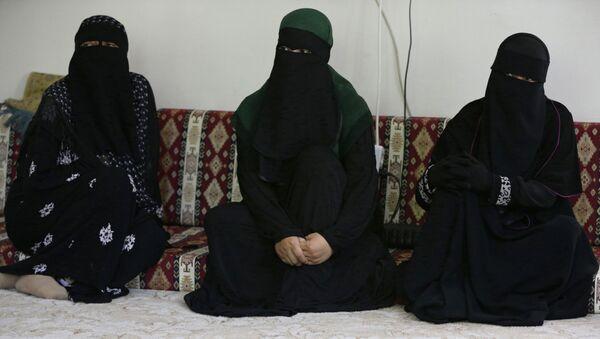 IŞİD'e katılmak için Çin'den kaçan Uygur kadınlar, Kayseri, Ağustos 2017 - Sputnik Türkiye