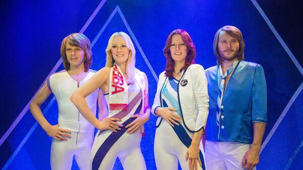 ABBA Müzesi'ndeki balmumu heykeller, Stockholm, İsveç - Sputnik Türkiye