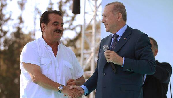 Recep Tayyip Erdoğan, İbrahim Tatlıses - Sputnik Türkiye