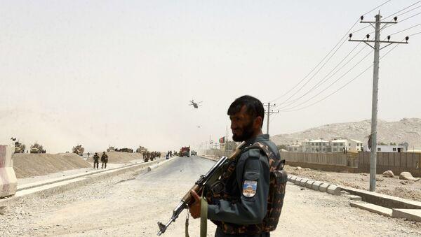 Kandahar-Afganistan polisi - Sputnik Türkiye