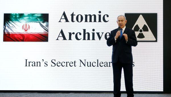 Ortadoğu'da nükleer silah sahibi olan tek ülkenin lideri, İran'ın gizli nükleer silah faaliyetlerine dair ellerinde yeni ve somut deliller olduğunu, İran'ın nükleer arşivinin kopyalarını ele geçirdiklerini iddia etti. - Sputnik Türkiye
