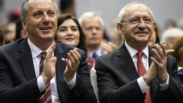 Muharrem İnce - Kemal Kılıçdaroğlu  - Sputnik Türkiye
