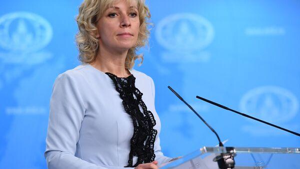 Rusy Dışişleri Sözcüsü Mariya Zaharova - Sputnik Türkiye