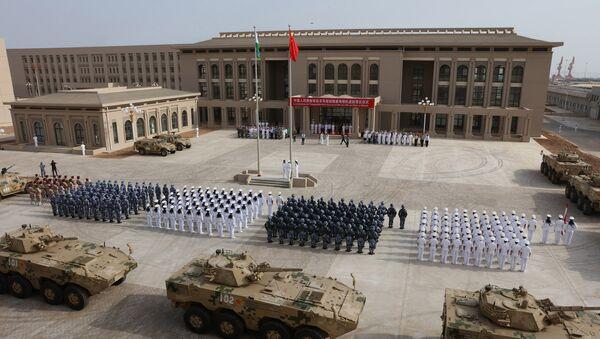 Çin'in Cibuti'deki donanma üssü - Sputnik Türkiye