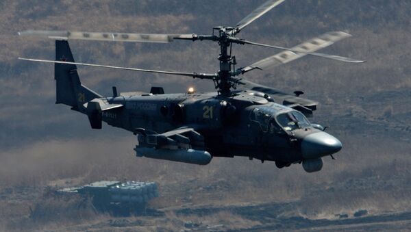Rus Ka-52 helikopteri - Sputnik Türkiye