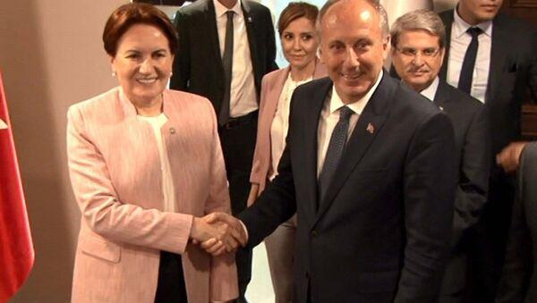 Muharrem İnce - Meral Akşener - Sputnik Türkiye