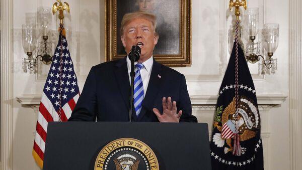 ABD Başkanı Donald Trump, İran kararını açıkladı - Sputnik Türkiye