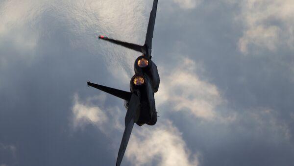 Israeli Air Force F-15 jet. (File) - Sputnik Türkiye