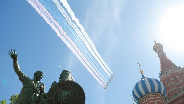 Rusya, Zafer Bayramı, askeri geçit töreni - Sputnik Türkiye