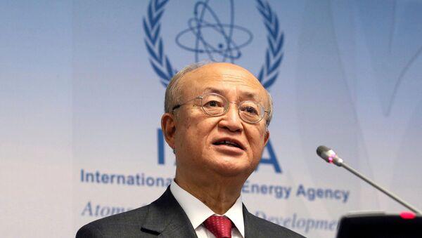 Uluslararası Atom Enerjisi Ajansı Başkanı Yukiya Amano - Sputnik Türkiye