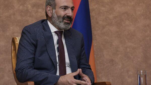 Ermenistan Başbakanı Paşinyan - Sputnik Türkiye