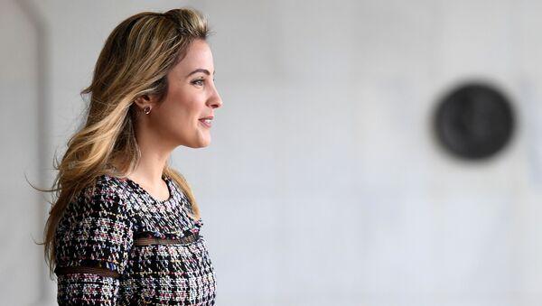 Brezilya Devlet Başkanı Michel Temer'in eşi Marcela Temer - Sputnik Türkiye