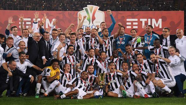 İtalya Kupası'nın kazananı Juventus oldu - Sputnik Türkiye