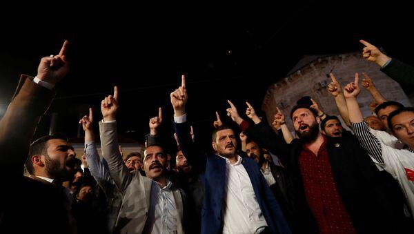 Alperen Ocakları'ndan Fransa Başkonsolosluğu önünde 'Kuran' protestosu - Sputnik Türkiye