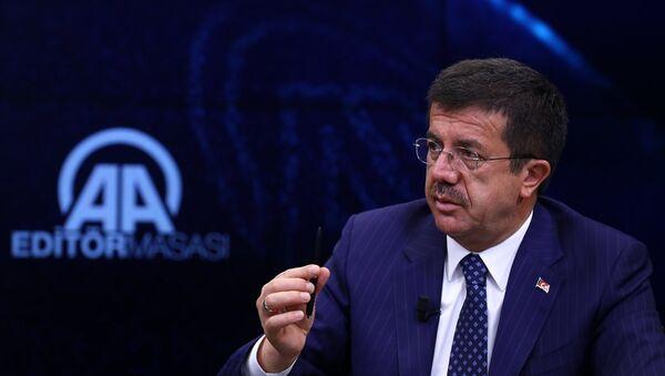 Ekonomi Bakanı Nihat Zeybekci - Sputnik Türkiye