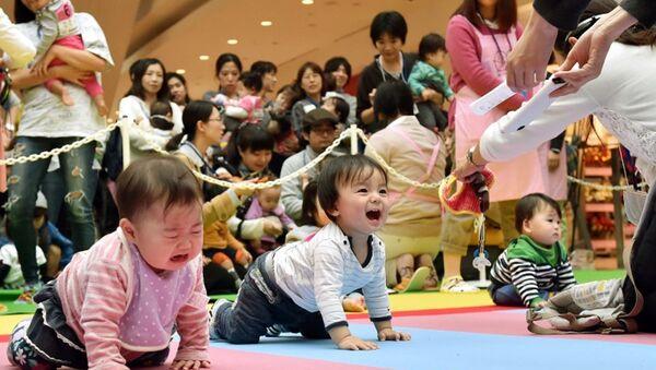 Japonya-çocuk - Sputnik Türkiye