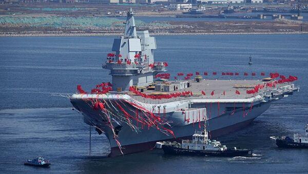 Çin'in ilk yerli üretim uçak gemisi - Sputnik Türkiye