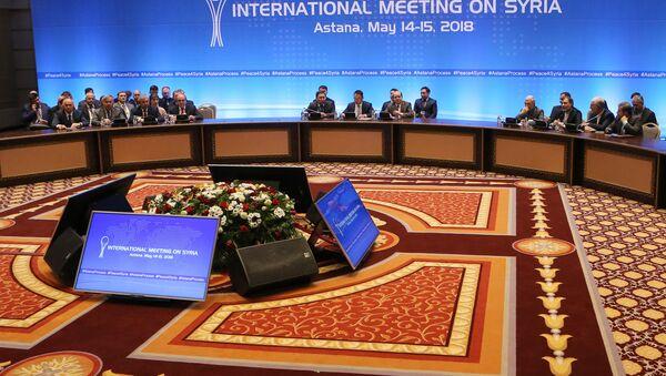 Kazakistan'da, Suriye konulu 9. Astana toplantısı - Sputnik Türkiye