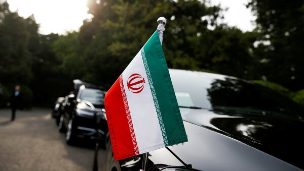 Çin'deki İran heyetinin konvoyu - Sputnik Türkiye