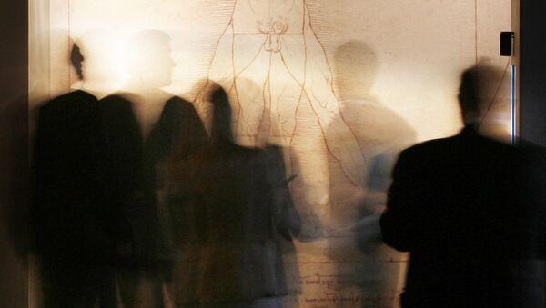 Vitruvius Adamı, Leonardo da Vinci - Sputnik Türkiye
