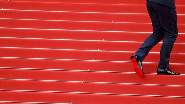 Гость на красной дорожке 71-го Каннского международного кинофестиваля - Sputnik Türkiye