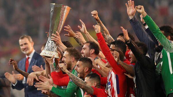 UEFA Avrupa Ligi şampiyonu Atletico Madrid oldu - Sputnik Türkiye