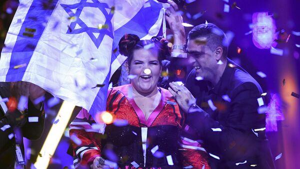 2018 Eurovision Şarkı Yarışması'nı İsrailli Netta Barzilai 'Toy' isimli şarkısıyla kazandı. - Sputnik Türkiye
