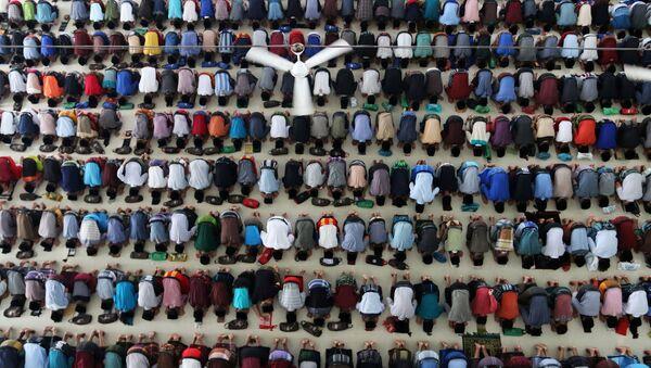 Müslüman- Ramazan- Endonezya - Sputnik Türkiye