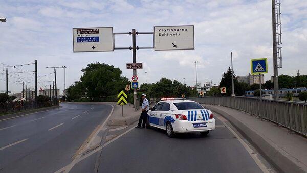İstanbul, trafik, trafik polisi - Sputnik Türkiye