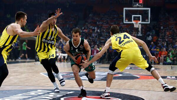 2018 EuroLeague Final Four, Belgrad, Fenerbahçe Doğuş-Zalgiris Kaunas - Sputnik Türkiye