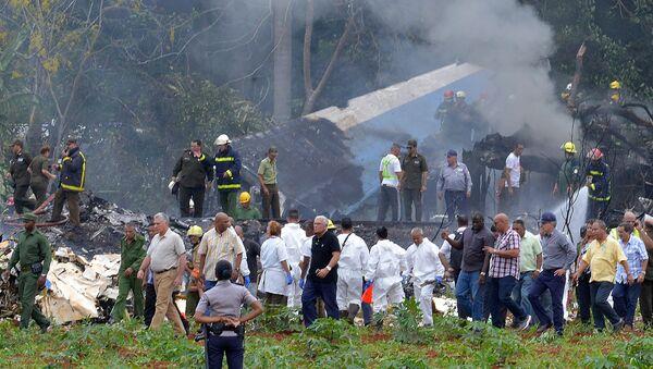 Küba'nın başkenti Havana'dan havalanan Boeing 737 düştü - Sputnik Türkiye