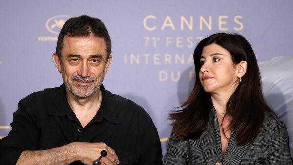 71. Cannes Film Festivali, Ahlat Ağacı filminin tanıtımı, Nuri Bilge Ceylan-Ebru Ceylan - Sputnik Türkiye
