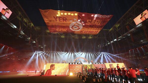 Galatasaray 21. şampiyonluğunu kutladı - Sputnik Türkiye