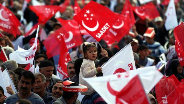 Saadet Partisi, seçmen - Sputnik Türkiye