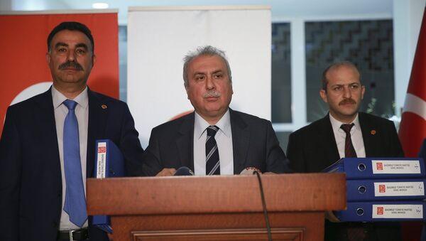 BTP Genel Başkan Yardımcısı Abdullah Terzi - Sputnik Türkiye