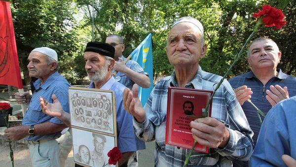 Kırım Tatarları anma - Sputnik Türkiye