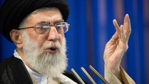 İran dini lideri Ayetullah Ali Hamaney - Sputnik Türkiye