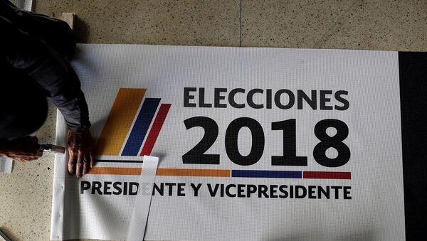 Kolombiya, seçim - Sputnik Türkiye