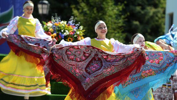 Kazan'da Karavon halk festivali - Sputnik Türkiye