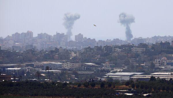 İsrail-Gazze-Hava saldırısı - Sputnik Türkiye