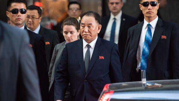 Kuzey Kore İşçi Partisi Merkez Komitesi Başkan Yardımcısı Kim Yong Chol, New York'ta - Sputnik Türkiye