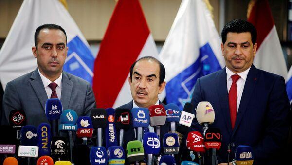 Irak Bağımsız Yüksek Seçim Komisyonu Başkanı Riyad Bedran - Sputnik Türkiye