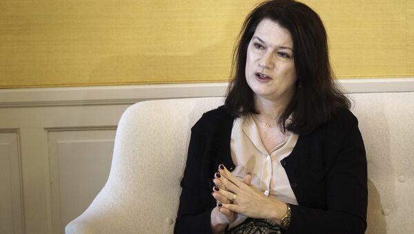İsveç Avrupa Birliği (AB) ve Ticaret Bakanı Ann Lind - Sputnik Türkiye