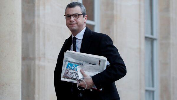 Fransa Cumhurbaşkanı Emmanuel Macron'un özel danışmanı Alexis Kohler - Sputnik Türkiye