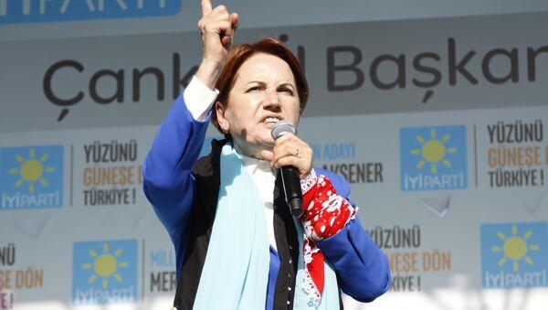İYİ Parti Genel Başkanı Meral Akşener - Sputnik Türkiye