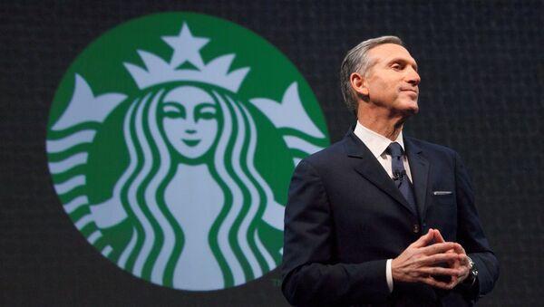 Starbucks CEO'su Howard Schultz - Sputnik Türkiye