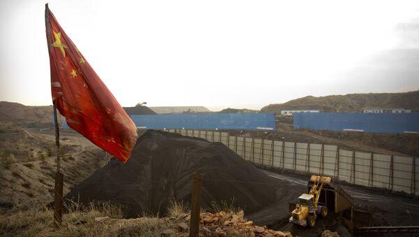 Çin-Kömür madeni - Sputnik Türkiye